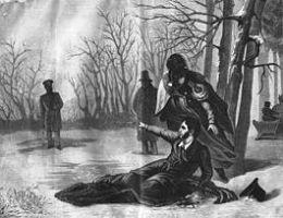 Дуэль пушкина с дантесом доклад 3438