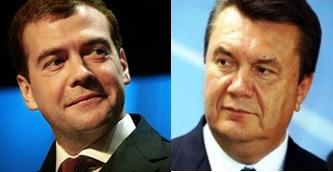 Янукович приедет в гости к Медведеву в марте