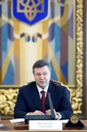Янукович провел первое совещание с Высшим советом юстиции