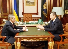 Виктор Янукович провел встречу с Леонидом Черновецким