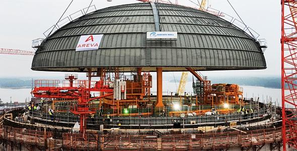 Areva создает новейший ядерный реактор