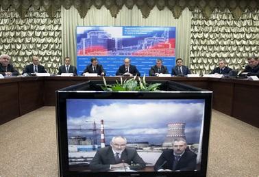 Путин провел совещание по вопросам атомной энергетики
