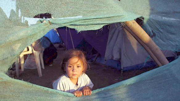 Чилийцы встретят Пасху в палаточных часовнях