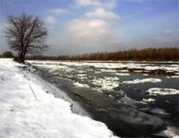 В конце марта по водам Украины сойдет лед