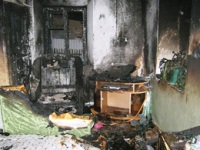 На Николаевщине при пожаре угорел 4-хлетний ребенок