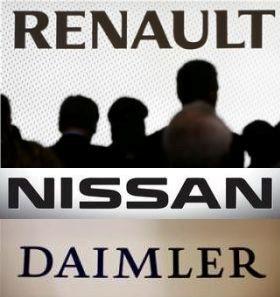 Ведутся переговоры о создании альянса Nissan-Renault-Daimler