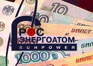 У Росэнергоатома украли 100 млн рублей
