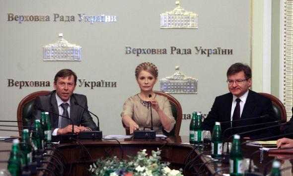 Тимошенко провела первое заседание теневого правительства