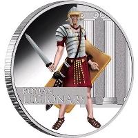 Римский легионер на монетах Тувалу