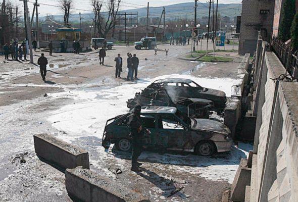 Террорист-смертник взорвал милицию в Ингушетии