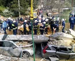 В Ялте взорвалась операторская водоканала