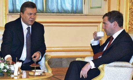 Янукович и Медведев обсудят главные вопросы сотрудничества
