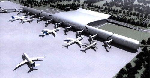 Донецкий международный аэропорт построит диспетчерскую