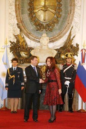 Россия - Аргентина, сотрудничество усиливается