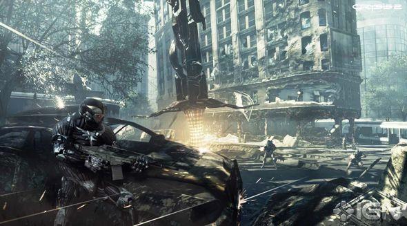 Crysis 2 от Crytek изменит игровой мир современности
