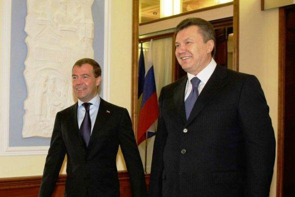 Итоги встречи Медведева и Януковича взаимовыгодны для обеих стран