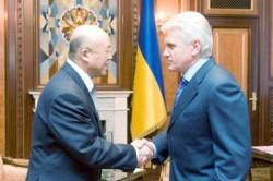 Литвин и Чжоу Ли довольны китайско-украинским сотрудничеством