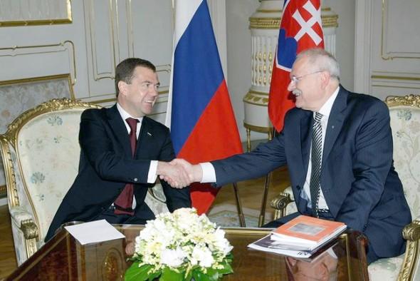 Россия провела переговоры со Словакией