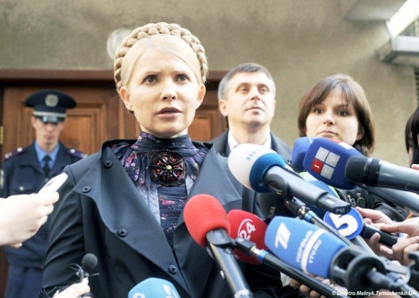 Тимошенко настаивает на возбуждении дела по вопросу коалиции