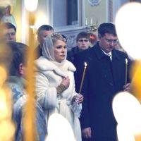 Тимошенко на Пасху посетит 4 храма
