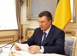 Янукович провел заседание с СНБО Украины