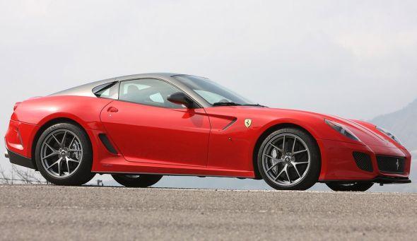 Феррари 599 GTO - скорость без границ