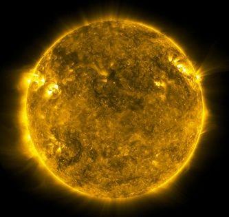 На Солнце сняли образование протуберанца
