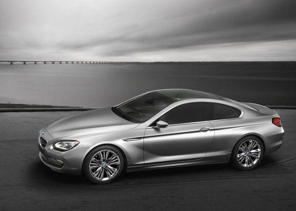 Концепт BMW 6 серии едет в Париж