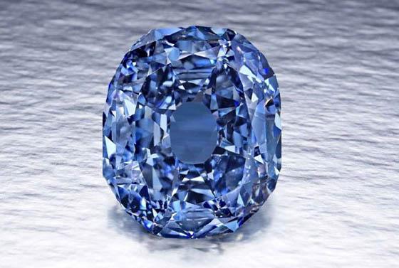 Бриллиантовое кольцо BVLGARI Blue Diamond выставят на Кристис