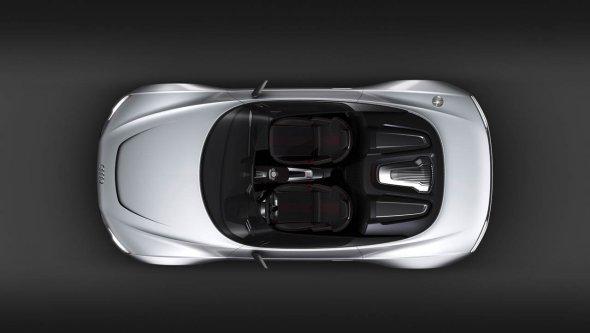 Audi на Парижском автосалоне представил E-Tron Spyder