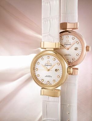 OMEGA презентовала коллекцию женских часов Ladymatic