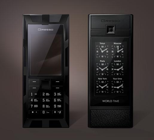 Luxor World Time - первый телефон с функцией мирового времени