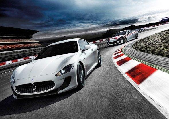 Суперкар Maserati GranTurismo MC Stradale для лучших