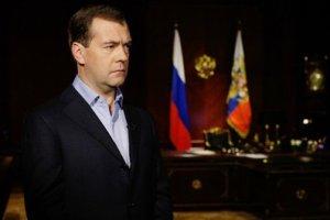 Медведев обратился к Лукашенко и народу Белоруссии