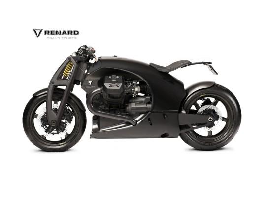 Renard Motorcycles презентовал свой первый спортивный мотоцикл Renard GT