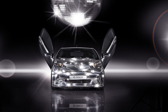 Toyota представила музыкальное авто IQ Disco