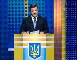 Виктор Янукович принял участие во Всеукраинском собрании юристов