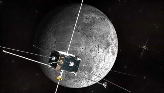 Спутники НАСА перешли к исследованию Луны