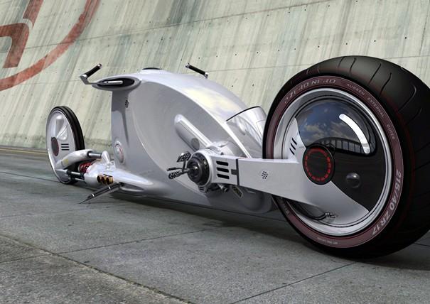 Бруно Делюссу представил мотоцикл из Звездных войн «Snake Road»