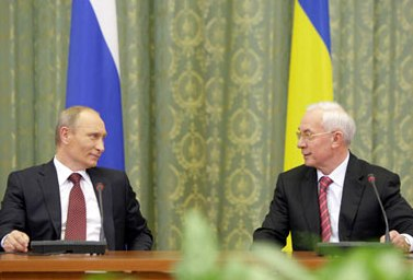 Россия и Украина подписали ряд двусторонних документов