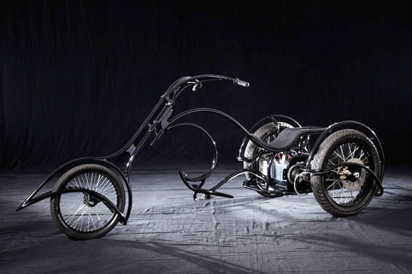 Джош Хадар создал трехколесный электробайк E-Trike