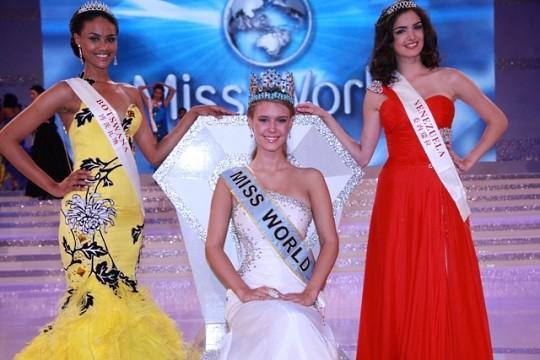 60-й Мисс Мира стала Александрия Миллс из США