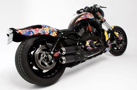 Эксклюзивный 2010 Harley-Davidson VRSCDX Night Rod Special продадут на аукционе