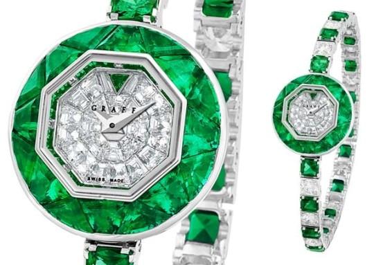 Graff презентовал часы BabyGraff Lady Diamants et Émeraudes