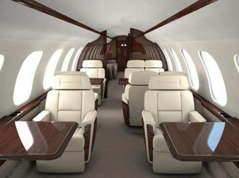 Bombardier построит два самолета бизнес класса Global 7000 и 8000