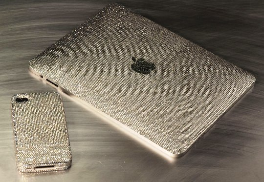 Crystograph презентовал люкс-серию IPad и iPhone 4 Ice Edition с кристалами Swarovski