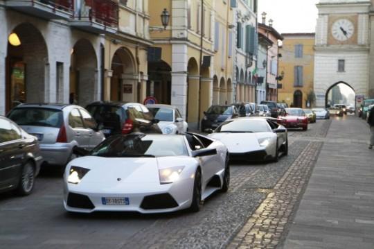 Суперкары V12 Lamborghini Murciélago отправились в музей