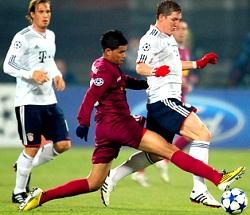 Бавария всухую 4:0 выиграла у ЧФР, Рома 3:2 Базель