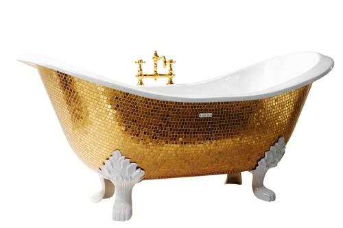 SICIS представил гламурную коллекцию ванн