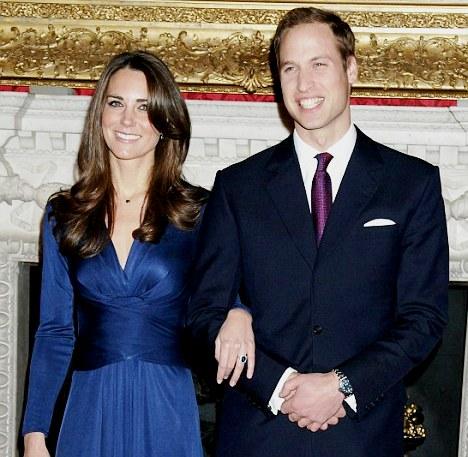 Принц Уильям женится на Кейт Мидлтон